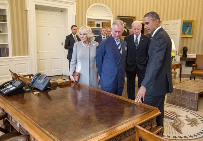 The Astonishing History of the President's Oval Office Resolute Desk