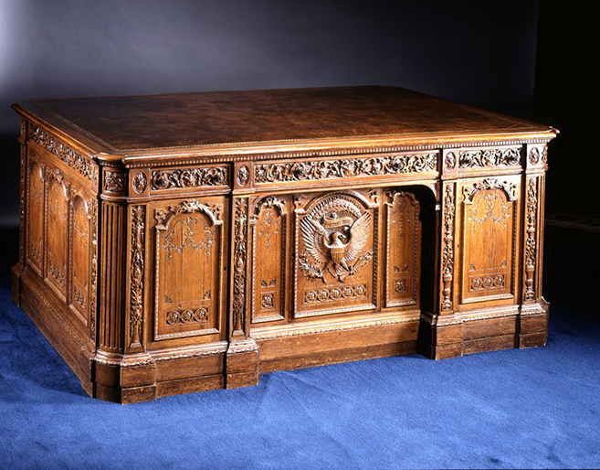 The Resolute Desk, Gift of Queen Victoria, 1880
