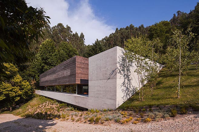 The Casa do Gerês in northern Portugal