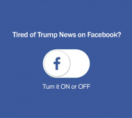 How To Remove Donald Trump From Your Newsfeed