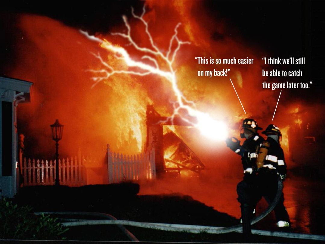 Firefighters Will Soon Be Fighting Fires With Electrical Wands