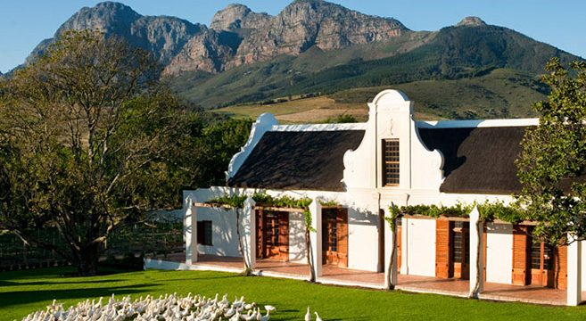 Travel to Babylonstoren South Africa