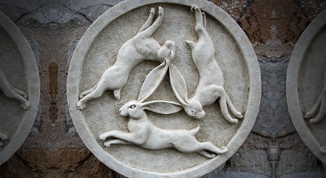 New Book Explores The Meaning Of The Three Hares One Of Human