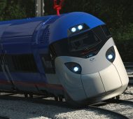Amtrak High-Speed Tilting Trains For Northeast Corridor