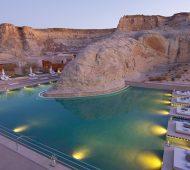 AMAN's Amangiri Resort & Spa In Canyon Point, southern Utah