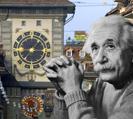 Bern, Switzerland's Zytglogge Clocktower that inspired Einstein's Theory of Relativity