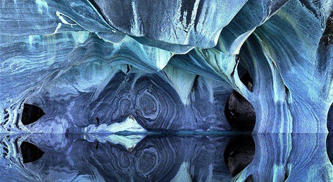 """Résultat de recherche d'images pour """"15. Marble Caves, Chile"""""""
