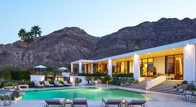 The Obamas Palm Springs Vacation Home of James Costos & Michael Smith
