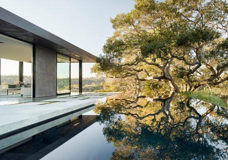 Walker Workshop's Magnificent Oak Pass House in Beverly Hills