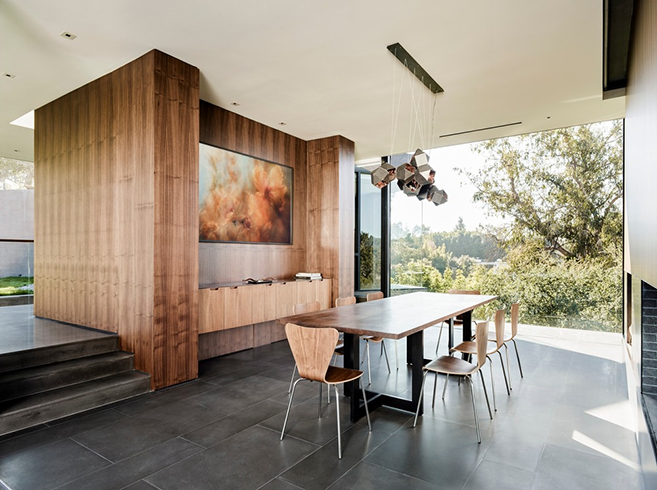 Walker Workshop's Magnificent Oak Pass House in Beverly Hills