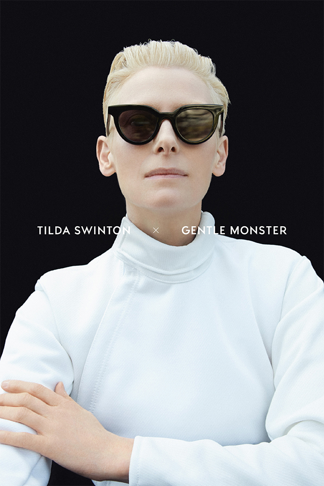 Tilda Swinton S New Line Of Sunglasses From Gentle Monster