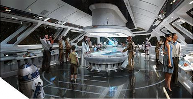 Disney's New Starship Star Wars Resort