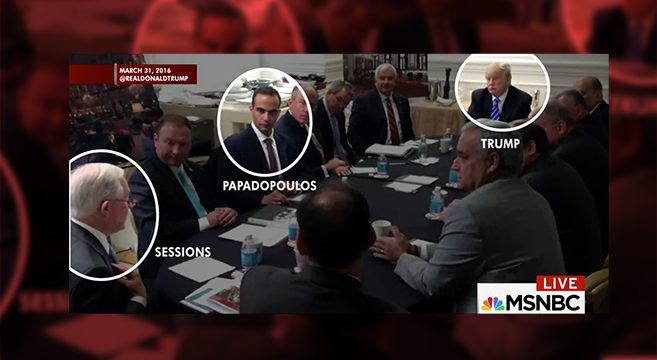 The Photograph Connecting George Papadopoulos to Donald Trump